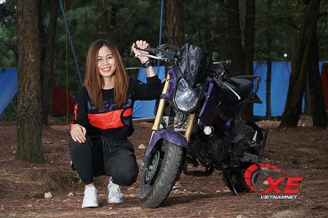 Quý cô Hà Nội chơi mô tô ngầu và chất khiến nam nhân phải nể phục - 7