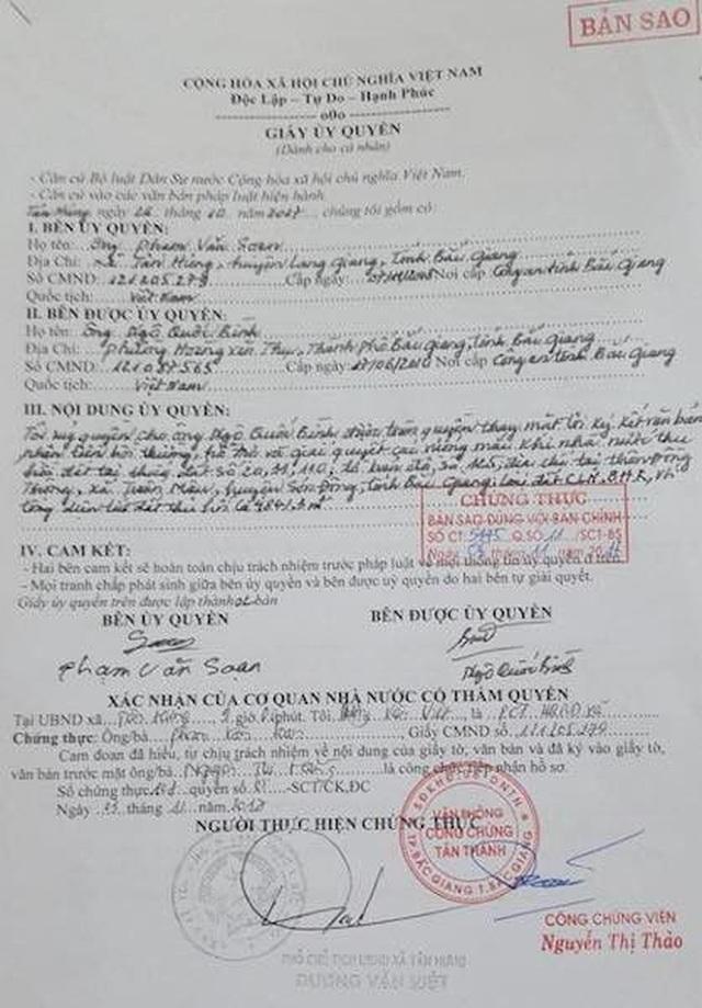 """""""Dính chàm"""" tại dự án du lịch Tây Yên Tử, 2 cán bộ nào của Sở TNMT Bắc Giang bị bắt? - 5"""