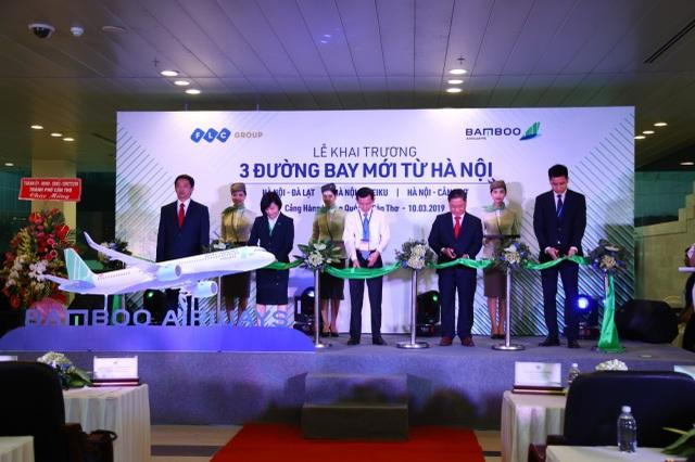 Từ 10/3, Bamboo Airways mở 3 đường bay mới từ Hà Nội đi Đà Lạt, Pleiku và Cần Thơ  - 2