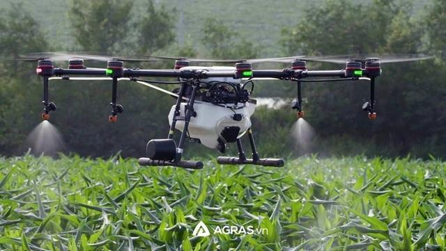 AGRAS.VN phân phối chính hãng Máy bay phun thuốc thế hệ mới MG-1P - 1