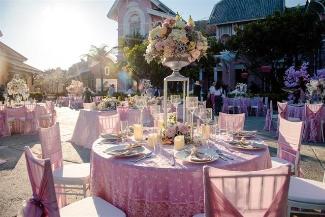 Những hình ảnh xa xỉ trong tiệc cưới của cặp tỷ phú Ấn Độ tại Phú Quốc  - 4