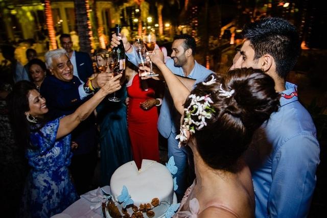 Những hình ảnh xa xỉ trong tiệc cưới của cặp tỷ phú Ấn Độ tại Phú Quốc  - 8