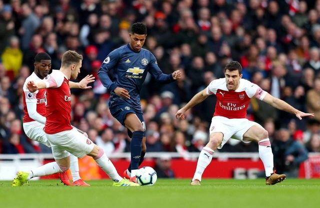 Những khoảnh khắc trong trận chiến Arsenal hạ gục Man Utd - 9
