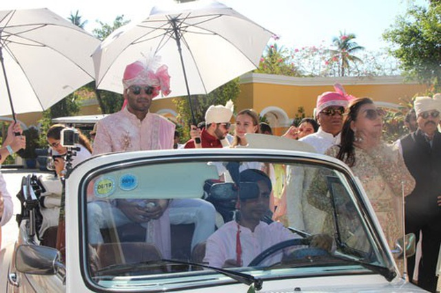 Cú hích du lịch từ đám cưới khủng của tỉ phú Ấn Độ - 1