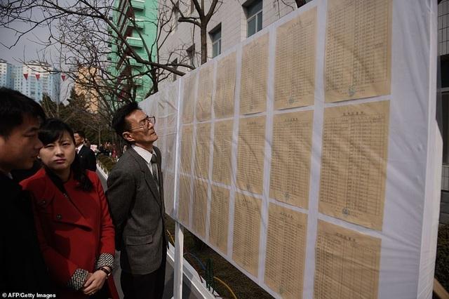 Ông Kim Jong-un cùng hàng triệu người Triều Tiên nô nức đi bầu cử - 5