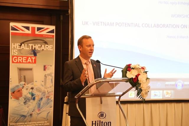 Thúc đẩy hợp tác giáo dục đào tạo ngành y tế Việt Nam – Anh Quốc - 2