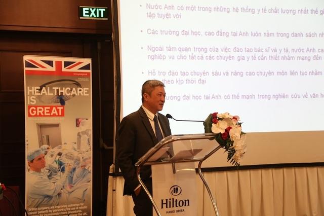 Thúc đẩy hợp tác giáo dục đào tạo ngành y tế Việt Nam – Anh Quốc - 3