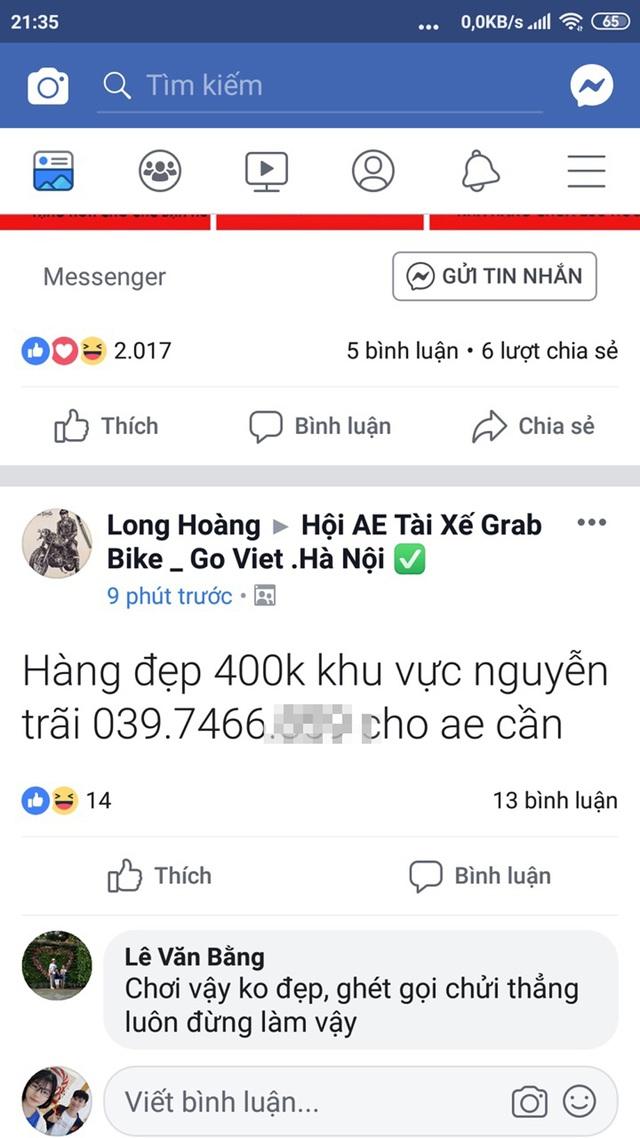 Nữ sinh không dám đi học vì bị vu là hàng đẹp 400k... trên Facebook - 1