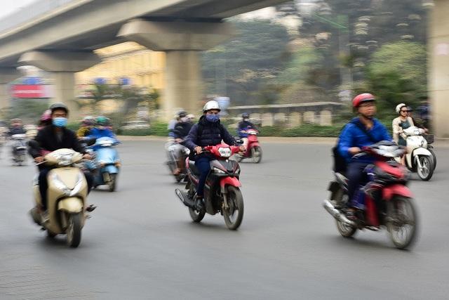 Toàn cảnh hai tuyến đường Hà Nội đang xem xét thí điểm cấm xe máy - 8