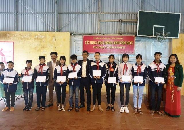Học bổng Grobest đến với học sinh nghèo hiếu học tỉnh Thái Bình - 3
