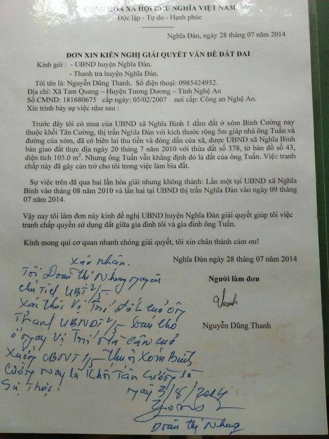 Nghệ An: Mua đất gần 30 năm, ngã ngửa khi bất ngờ bị hàng xóm đòi tranh chấp! - 1