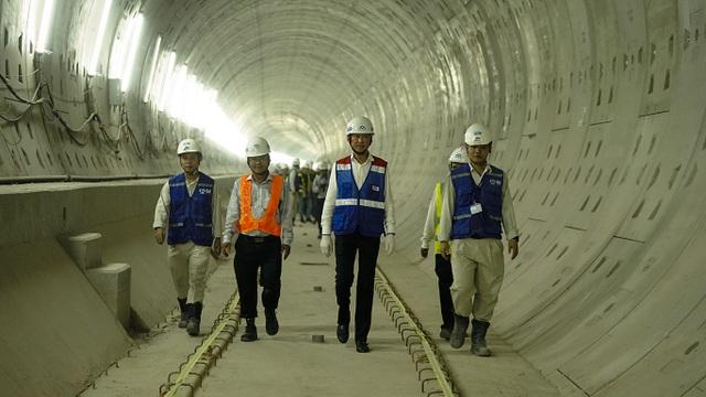 Mực nước ngầm hạ đột ngột, công trình metro số 1 bị ảnh hưởng - 1