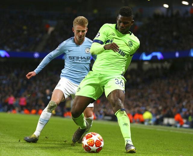 Aguero, Sane xuất thần ở trận đại thắng của Man City trước Schalke 04 - 2