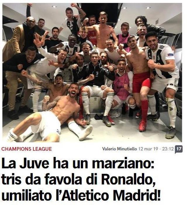 """Báo chí thế giới ngả mũ, gọi C.Ronaldo là """"gã đao phủ"""" - 2"""
