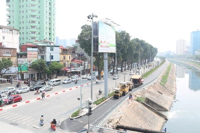 Toàn cảnh con đường dọc sông Tô Lịch chỉ để đi bộ, đi xe đạp - 12