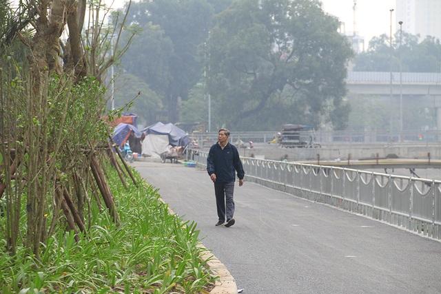 Toàn cảnh con đường dọc sông Tô Lịch chỉ để đi bộ, đi xe đạp - 6