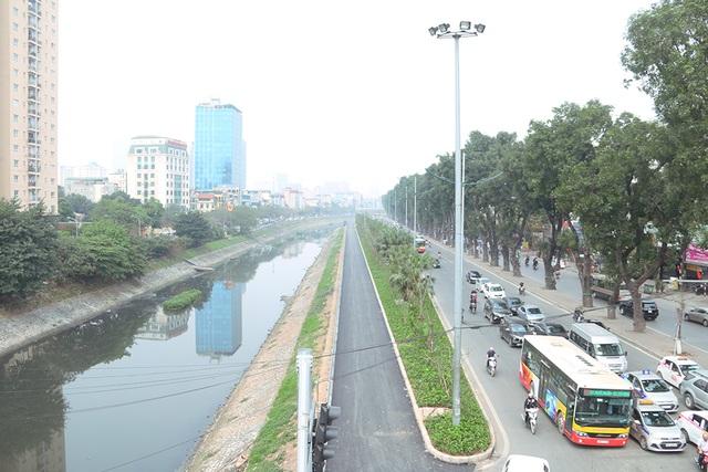 Toàn cảnh con đường dọc sông Tô Lịch chỉ để đi bộ, đi xe đạp - 1