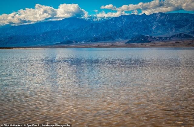 Hồ nước tuyệt đẹp đột nhiên xuất hiện ở Thung lũng Chết chỉ sau một ngày - 2