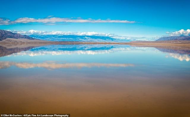 Hồ nước tuyệt đẹp đột nhiên xuất hiện ở Thung lũng Chết chỉ sau một ngày - 7