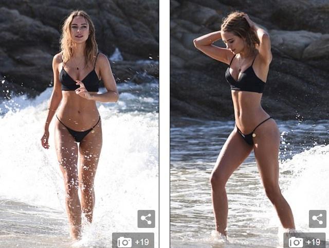 Kimberley Garner quyến rũ trên biển Miami - 2