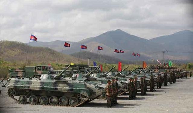 Campuchia tập trận quân sự lớn chưa từng có với Trung Quốc - 1
