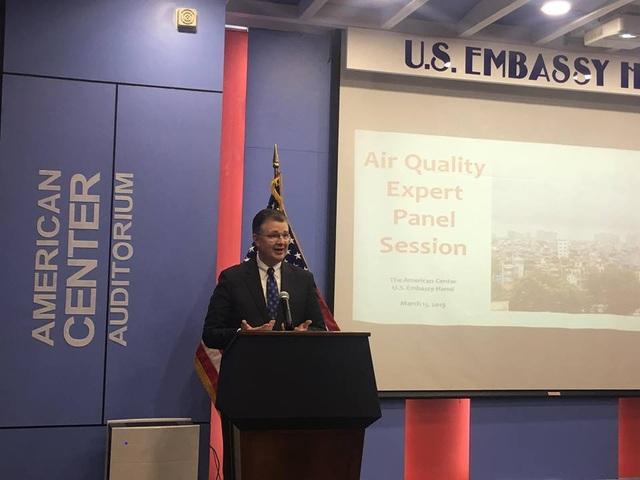 Mỹ sẵn sàng hỗ trợ Việt Nam bảo đảm chất lượng không khí - 1