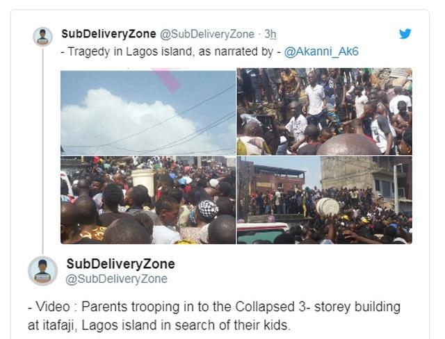 Trường học đổ sập tại Nigeria, 100 học sinh nghi bị chôn vùi - 5