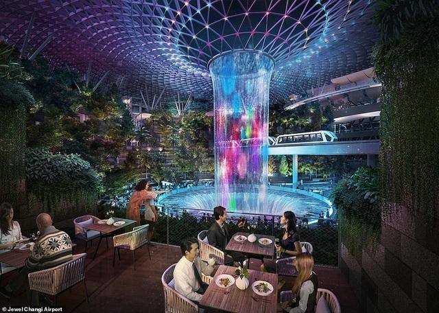Sân bay Singapore mở cửa khu rừng và thác nước nhân tạo lớn nhất thế giới - 3