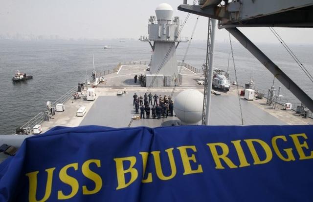 Tàu chỉ huy hiện đại nhất của Hải quân Mỹ đi qua Biển Đông - 6