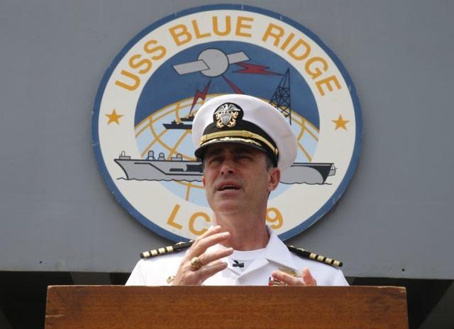 Tàu chỉ huy hiện đại nhất của Hải quân Mỹ đi qua Biển Đông - 2