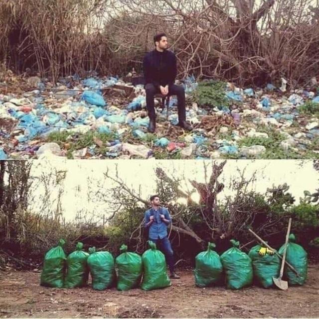 """Trào lưu """"Thử thách dọn rác"""" đang lan truyền mạnh mẽ trên cộng đồng mạng - 1"""