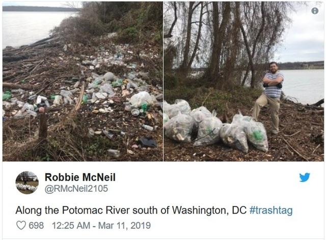 """Trào lưu """"Thử thách dọn rác"""" đang lan truyền mạnh mẽ trên cộng đồng mạng - 3"""