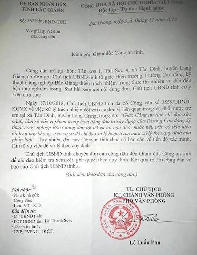 3 cháu bé chết oan ức hết hy vọng đòi lẽ công bằng tại Bắc Giang? - 1