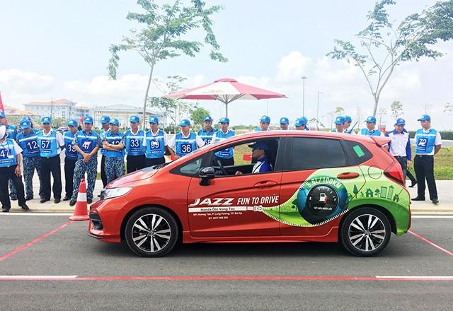 1.400 học viên được đào tạo lái xe an toàn cùng Honda Việt Nam - 1