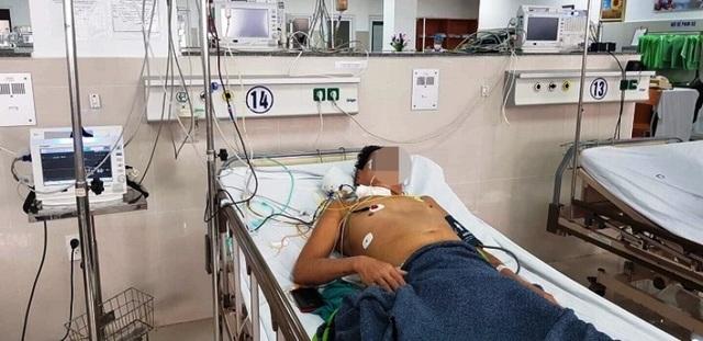Đau bụng dữ dội sau ngã, phát hiện u gan bị vỡ  - 2