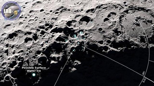 NASA phát hiện ra dấu hiệu của nước trên Mặt Trăng - 1