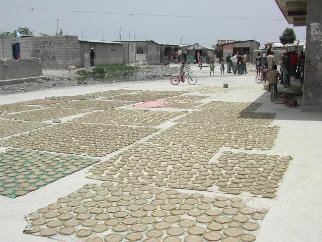 Quá đói, người dân Haiti phải ăn bánh làm từ bùn - 3
