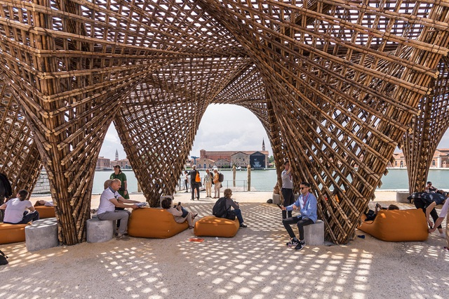 Vo Trong Nghia Bamboo Stalactite pavilion 2018 Venice Architecture Biennale_5.jpg