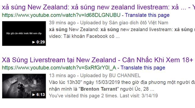 Video vụ xả súng ở New Zealand vẫn liên tục được chia sẻ trên YouTube, Facebook - 2