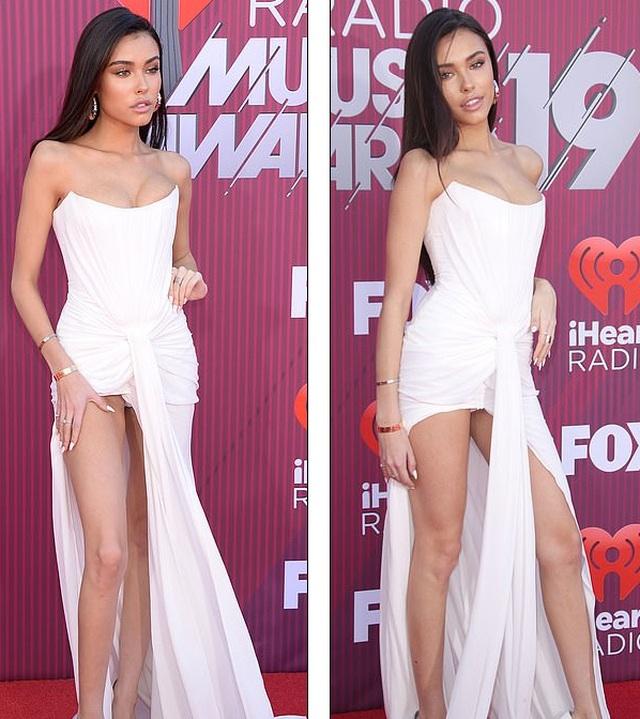 Madison Beer diện váy suýt lộ nội y trên thảm đỏ  - 6