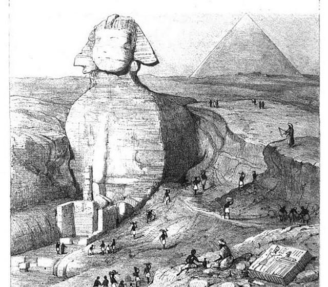 Có một cảnh cửa bí ẩn trong tượng Nhân sư của Ai Cập? - 1