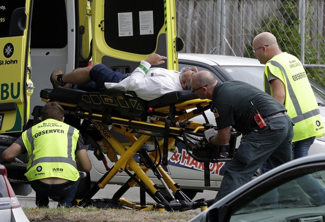 """Nhân chứng vụ xả súng kinh hoàng tại New Zealand: """"Thi thể la liệt khắp nơi"""" - 1"""