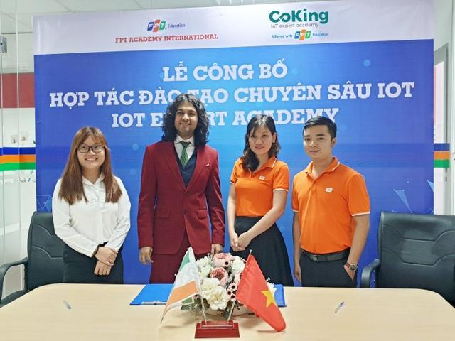 FPT Education ra mắt Học viện IoT đầu tiên tại Việt Nam - 1