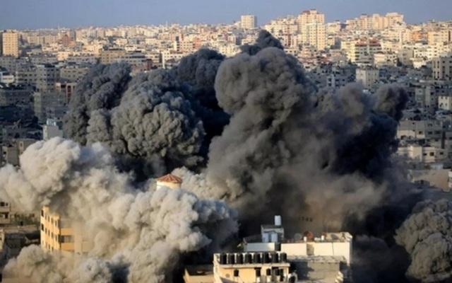 Israel ồ ạt không kích Gaza, thùng thuốc súng Trung Đông trực chờ nổ - 1..jpg