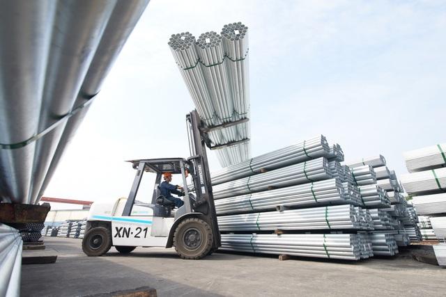 Thị phần ống thép Hòa Phát vượt lên 31% - 1