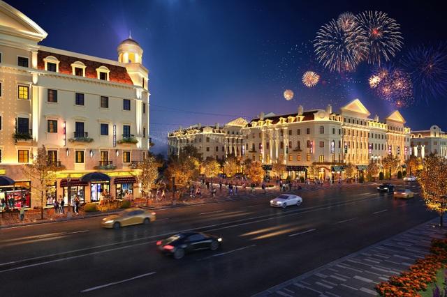 Shophouse Europe tiêu chuẩn mới cho các dãy phố mua sắm mùa du lịch - 1
