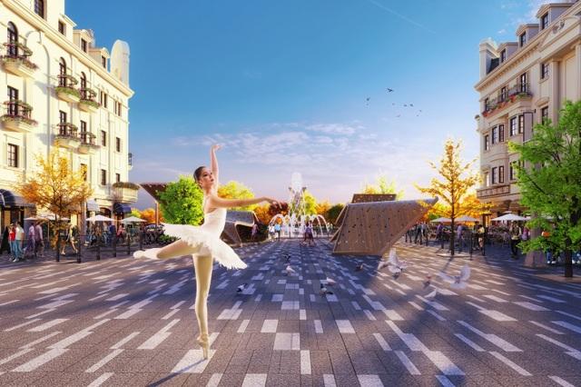 Shophouse Europe tiêu chuẩn mới cho các dãy phố mua sắm mùa du lịch - 2