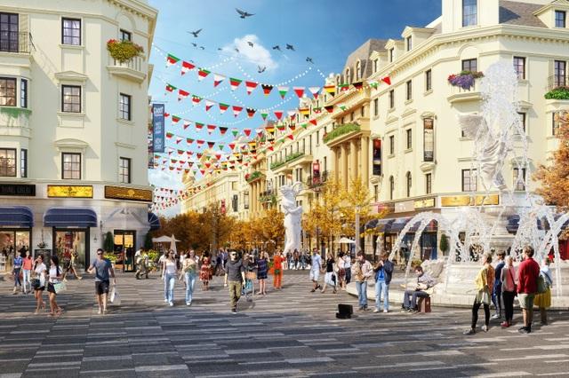 Shophouse Europe tiêu chuẩn mới cho các dãy phố mua sắm mùa du lịch - 3