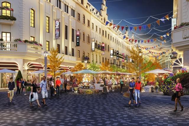 Shophouse Europe tiêu chuẩn mới cho các dãy phố mua sắm mùa du lịch - 4