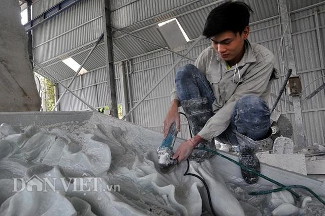Yên Bái: Cả làng thành triệu phú, tỷ phú với nghề ...lách cách thành tượng - 1